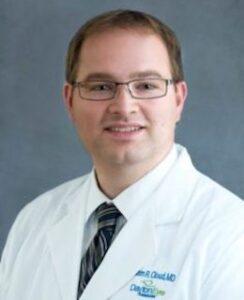 Dr. Adam Cloud's headshot