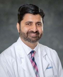 Dr. Fareed's headshot
